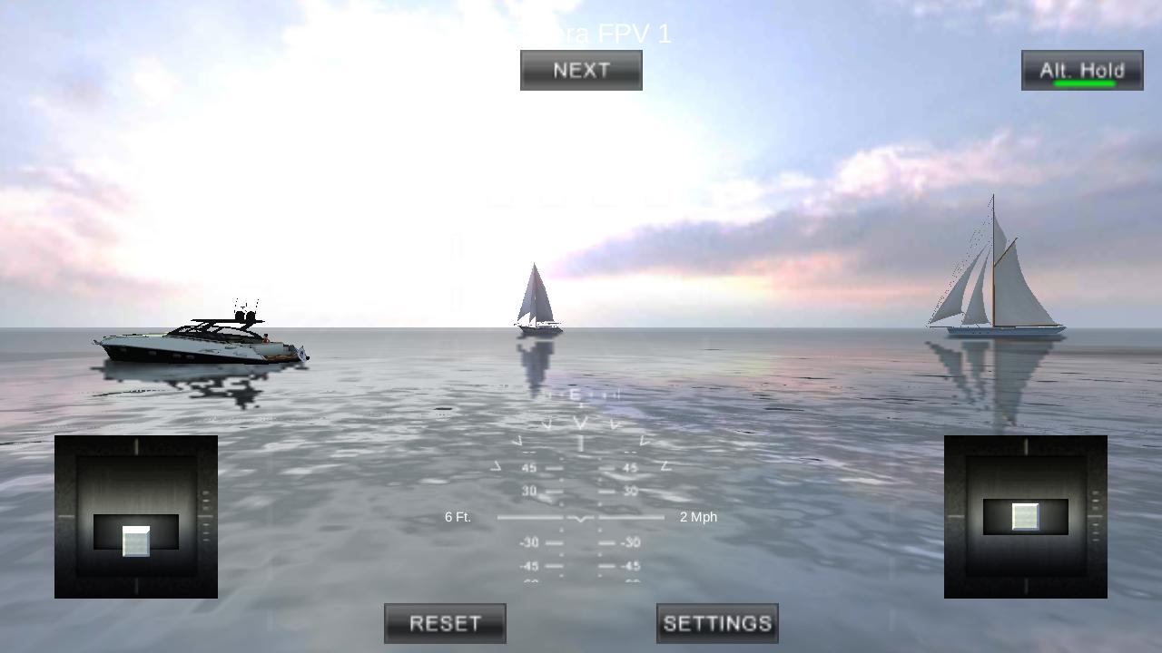 四旋翼飞行模拟VR图1