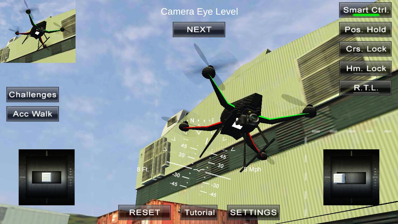 四旋翼飞行模拟VR图2