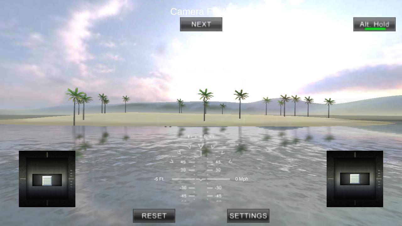 四旋翼飞行模拟VR图3