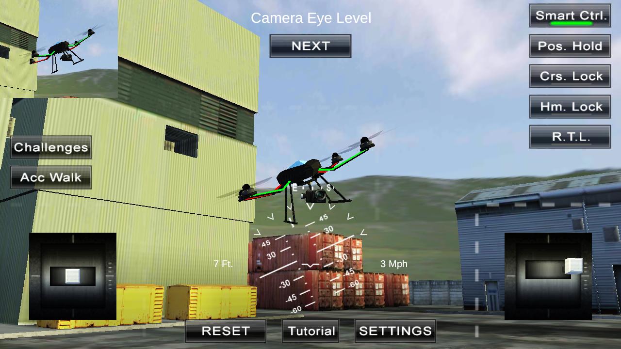 四旋翼飞行模拟VR图4