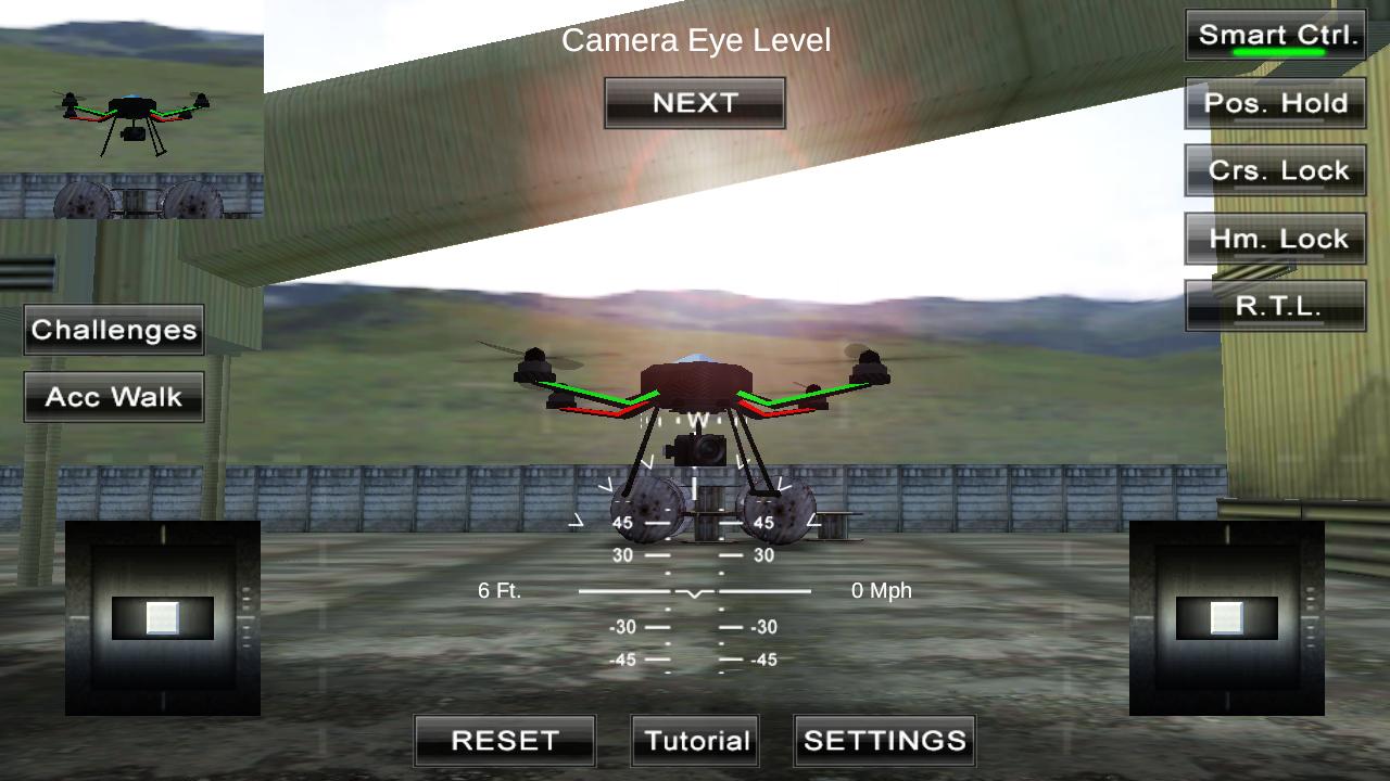 四旋翼飞行模拟VR图5