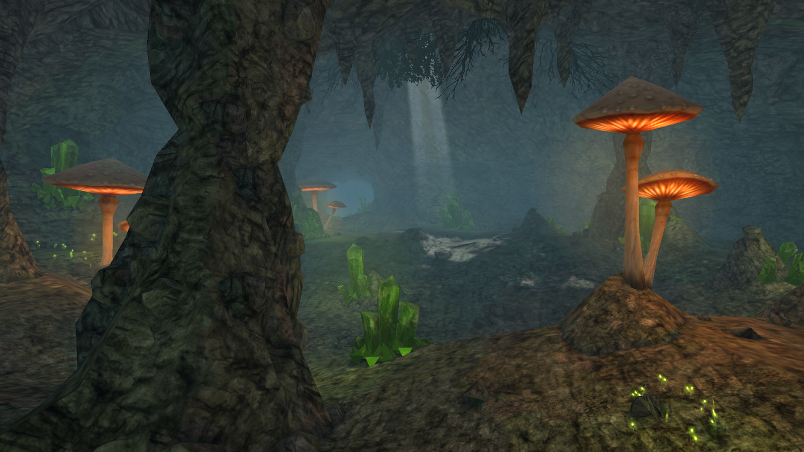 穿越洞穴VR图1